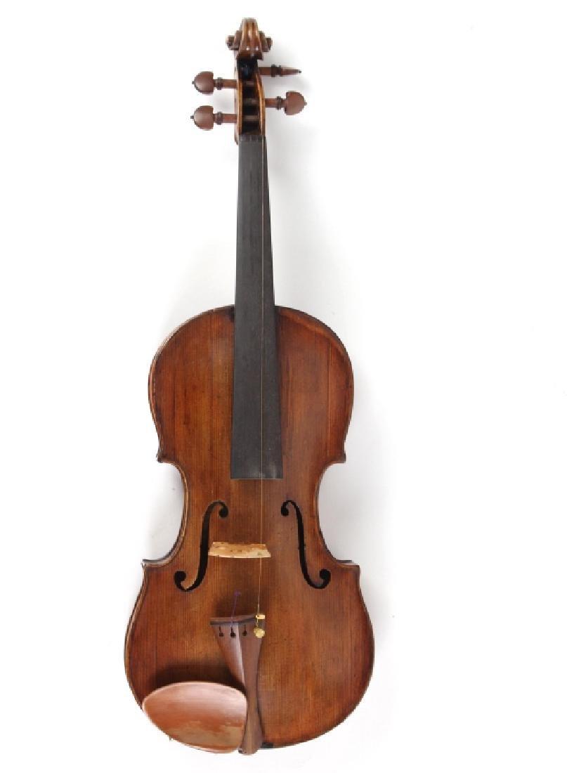 Antique 19th Century Carlo Bergonzi Copy Violin