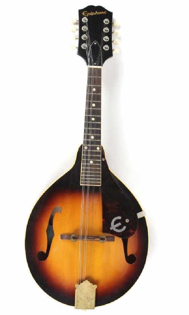 Vintage Epiphone EM66 Venetian Sunburst Mandolin