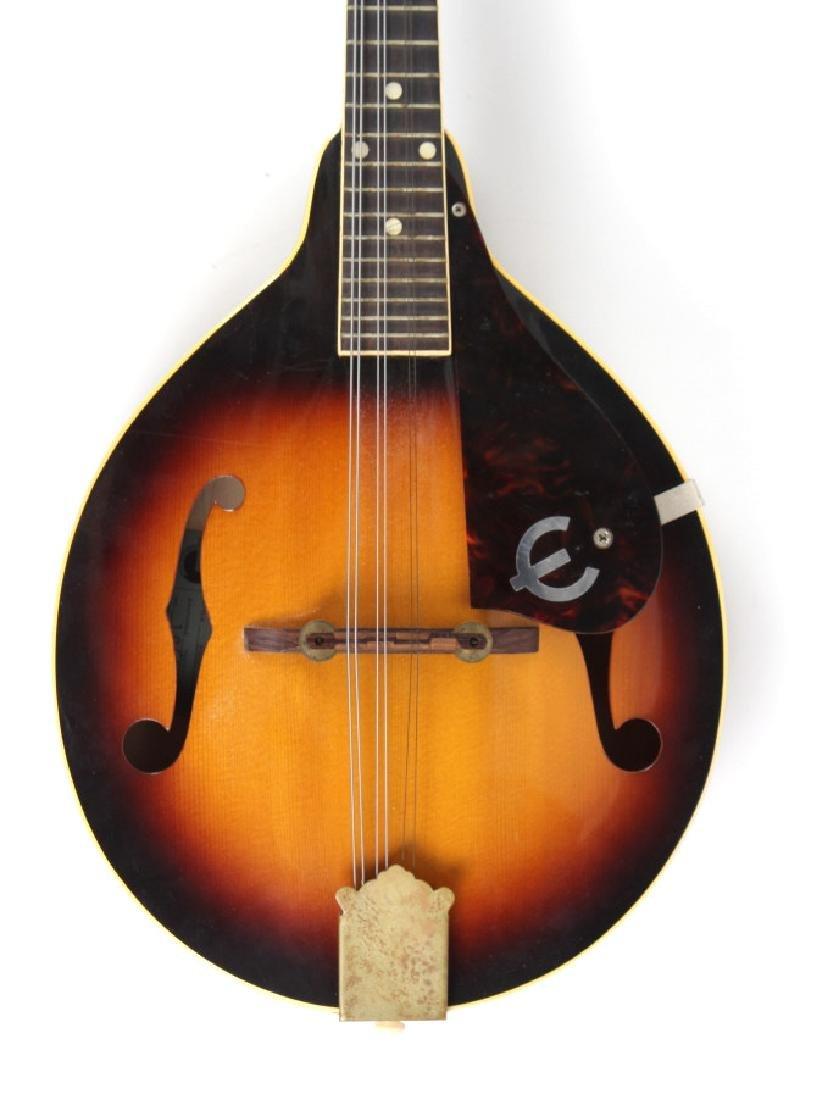 Vintage Epiphone EM66 Venetian Sunburst Mandolin - 2