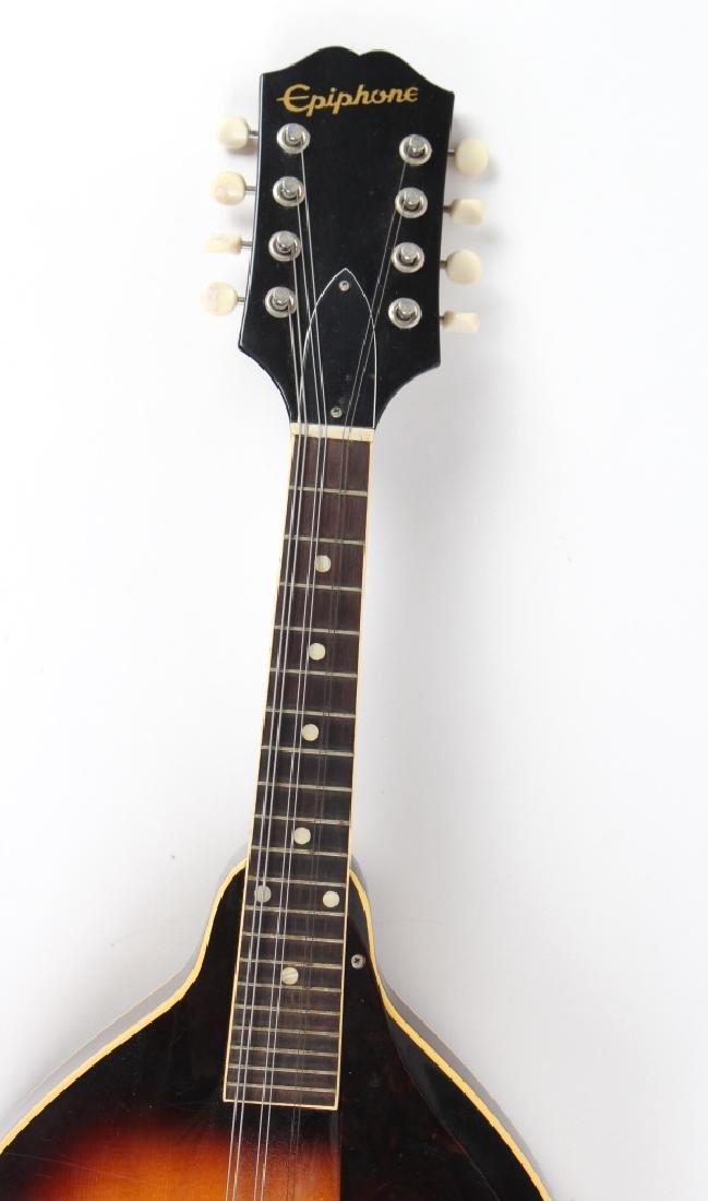 Vintage Epiphone EM66 Venetian Sunburst Mandolin - 3