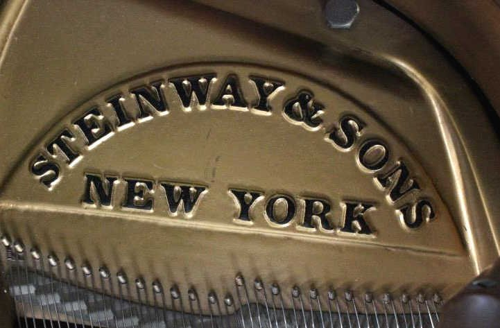 Steinway Model S Baby Grand Piano in Walnut Case - 3