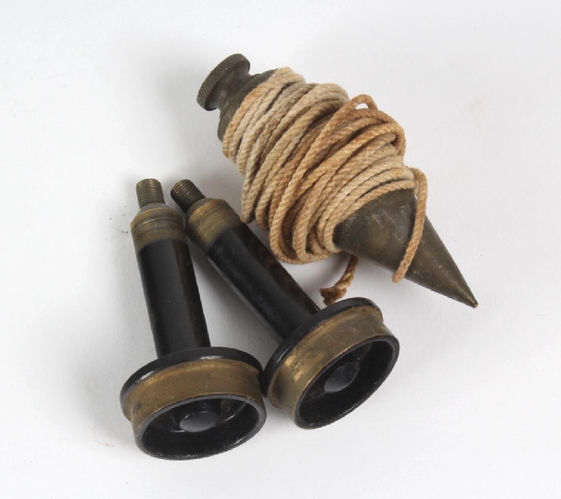 Vintage Survey Scope w Accessories & Wood Case - 3