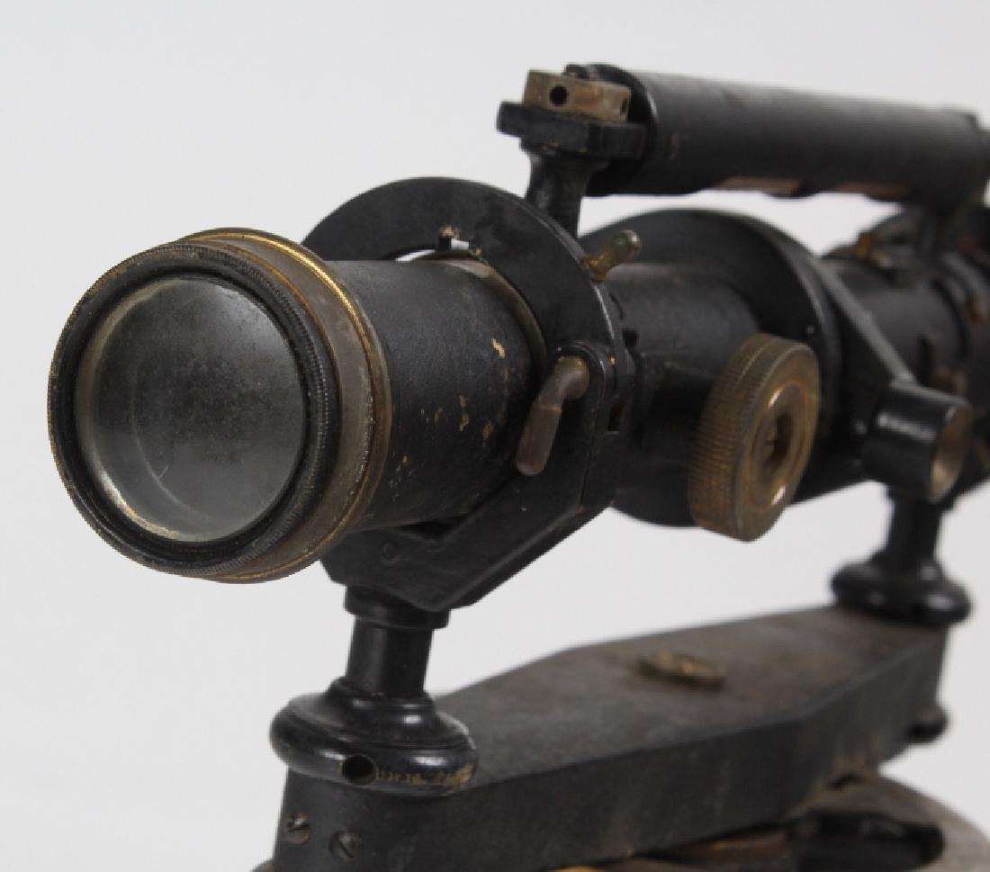 Vintage Survey Scope w Accessories & Wood Case - 5