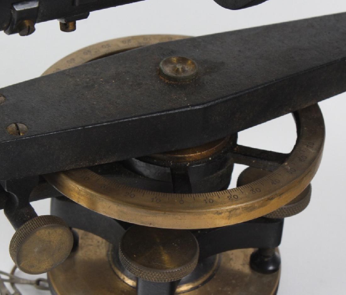 Vintage Survey Scope w Accessories & Wood Case - 8
