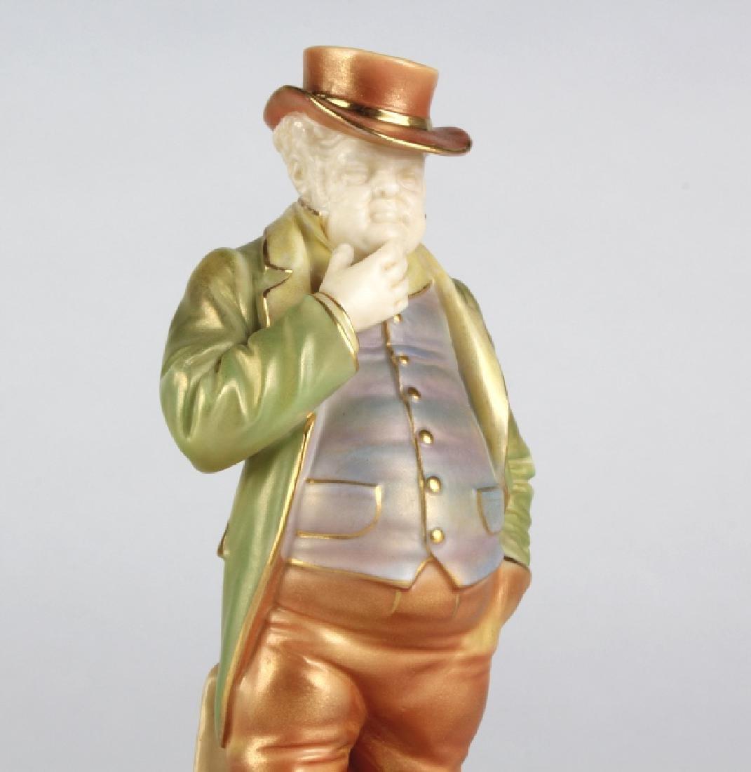 "Royal Worcester JOHN BULL Porcelain 6.5"" Figurine - 2"