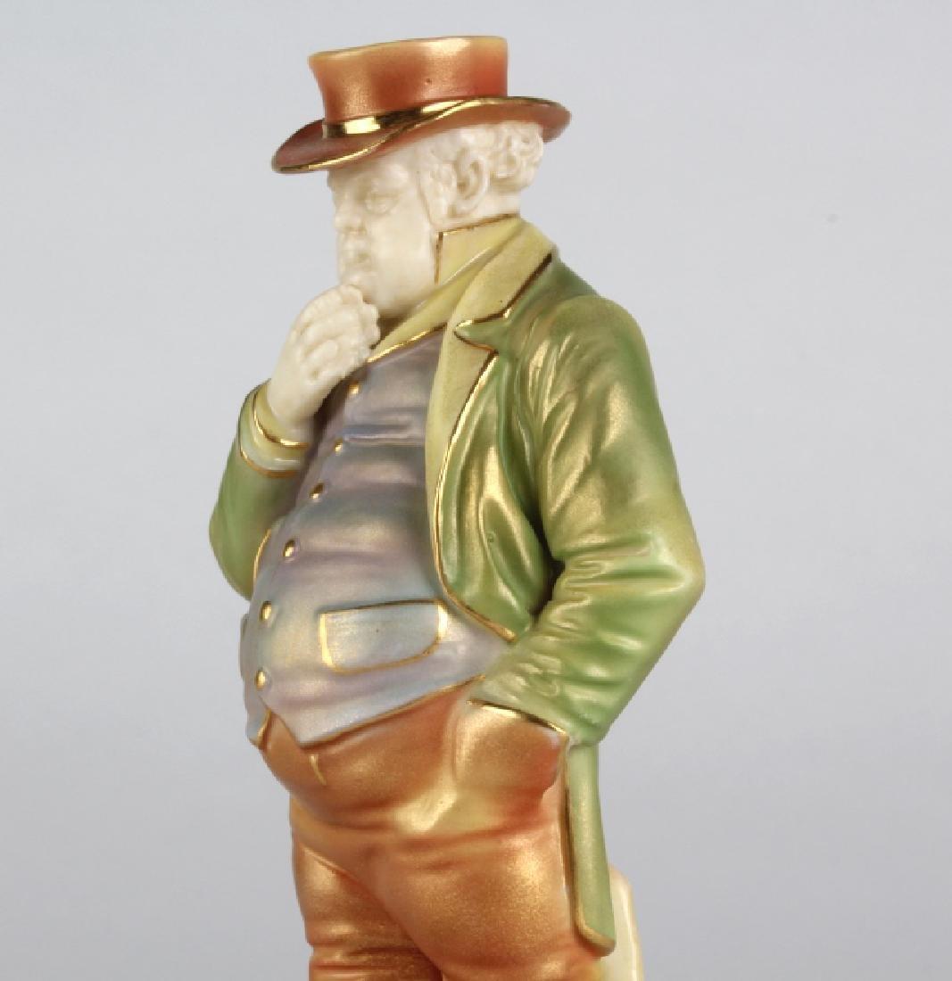 "Royal Worcester JOHN BULL Porcelain 6.5"" Figurine - 5"