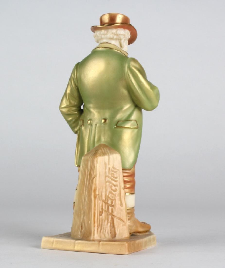 "Royal Worcester JOHN BULL Porcelain 6.5"" Figurine - 7"