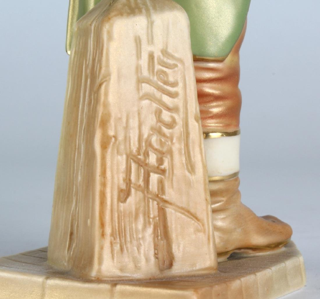 "Royal Worcester JOHN BULL Porcelain 6.5"" Figurine - 8"