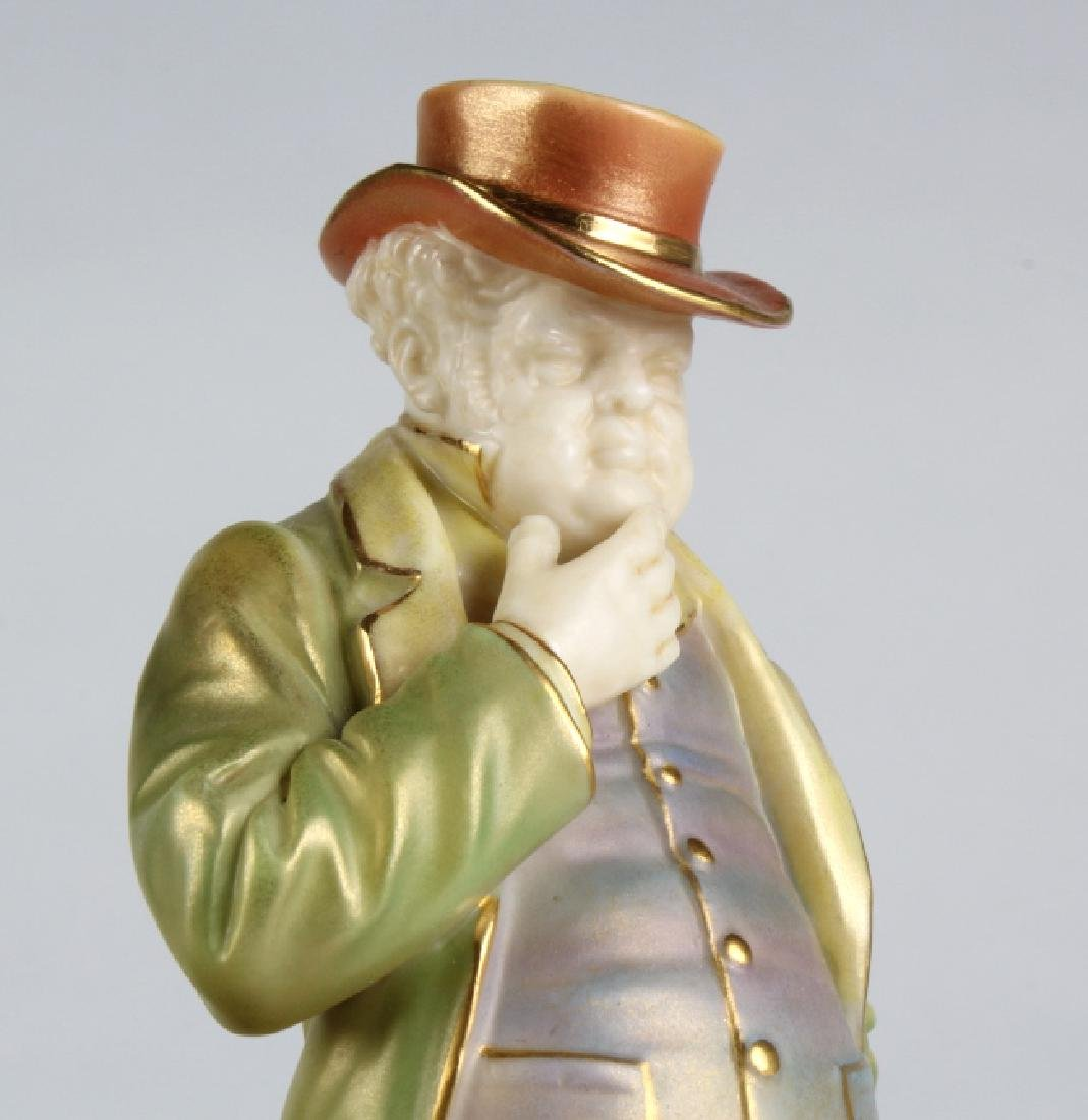 "Royal Worcester JOHN BULL Porcelain 6.5"" Figurine - 9"