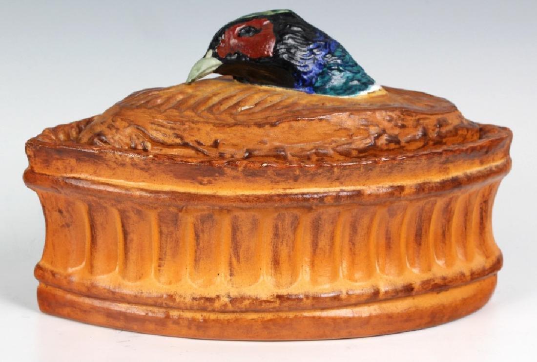 Pair Antique Pillivuyt French Pheasant Soup Tureen - 7