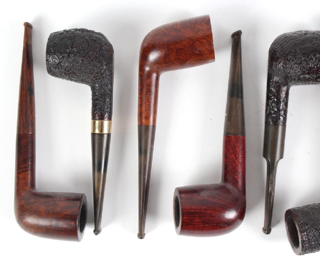 LOT of 9 Dunhill English Briar Shell Smoking Pipe - 2