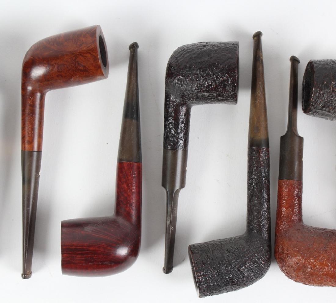 LOT of 9 Dunhill English Briar Shell Smoking Pipe - 3