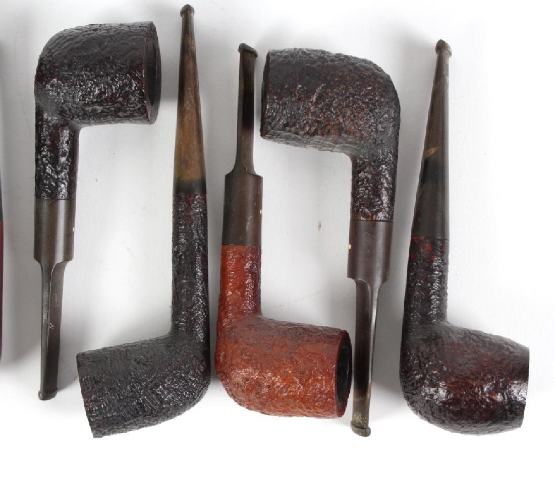 LOT of 9 Dunhill English Briar Shell Smoking Pipe - 4