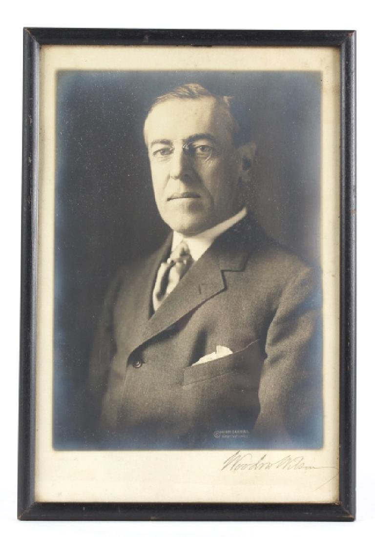 President Woodrow Wilson Autographed Photo SIGNED