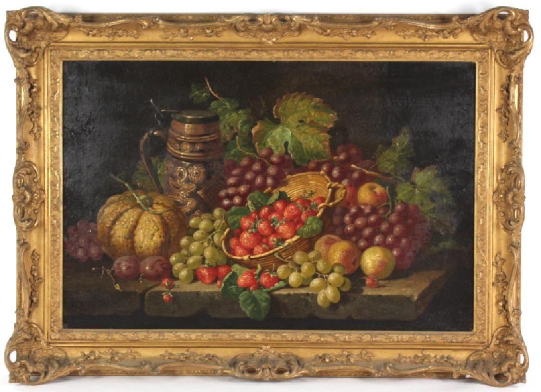 Charles Thomas Bale English Still Life Painting