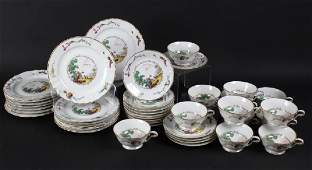 41pc Bernardaud BCo Limoges Porcelain China Set