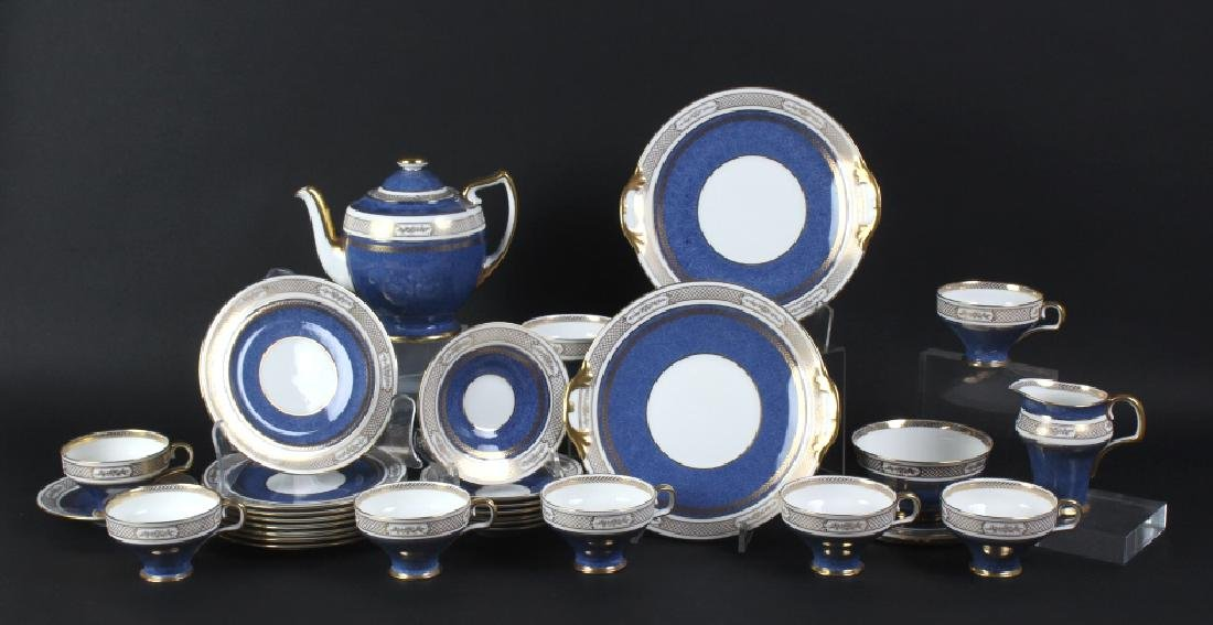 30p Royal Doulton English Porcelain Coffee Tea Set