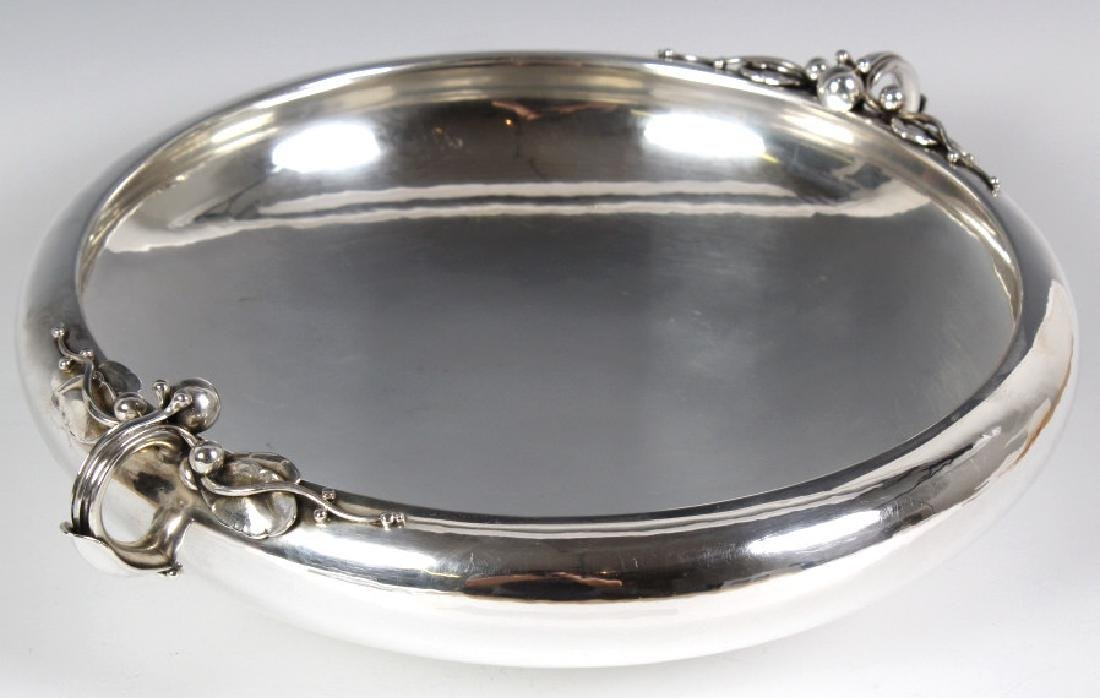 Georg Jensen Sterling Silver Centerpiece Low Bowl