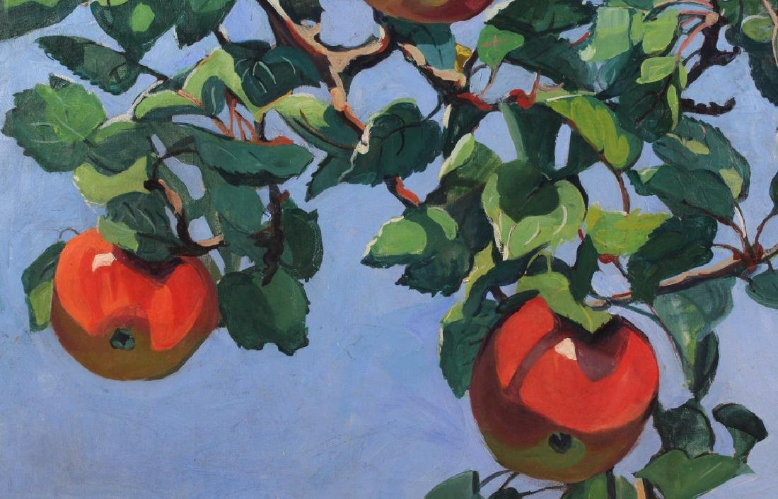 Jane Peterson Apples Tiffany Garden Oil Painting - 3