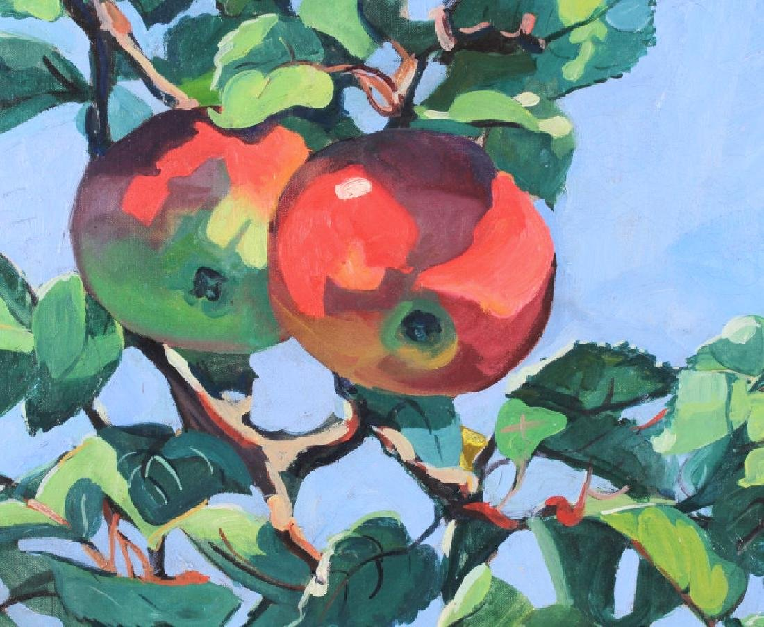 Jane Peterson Apples Tiffany Garden Oil Painting - 5