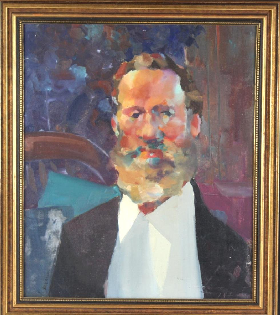 Robert Haydock Portrait of Gentleman Oil Painting - 2