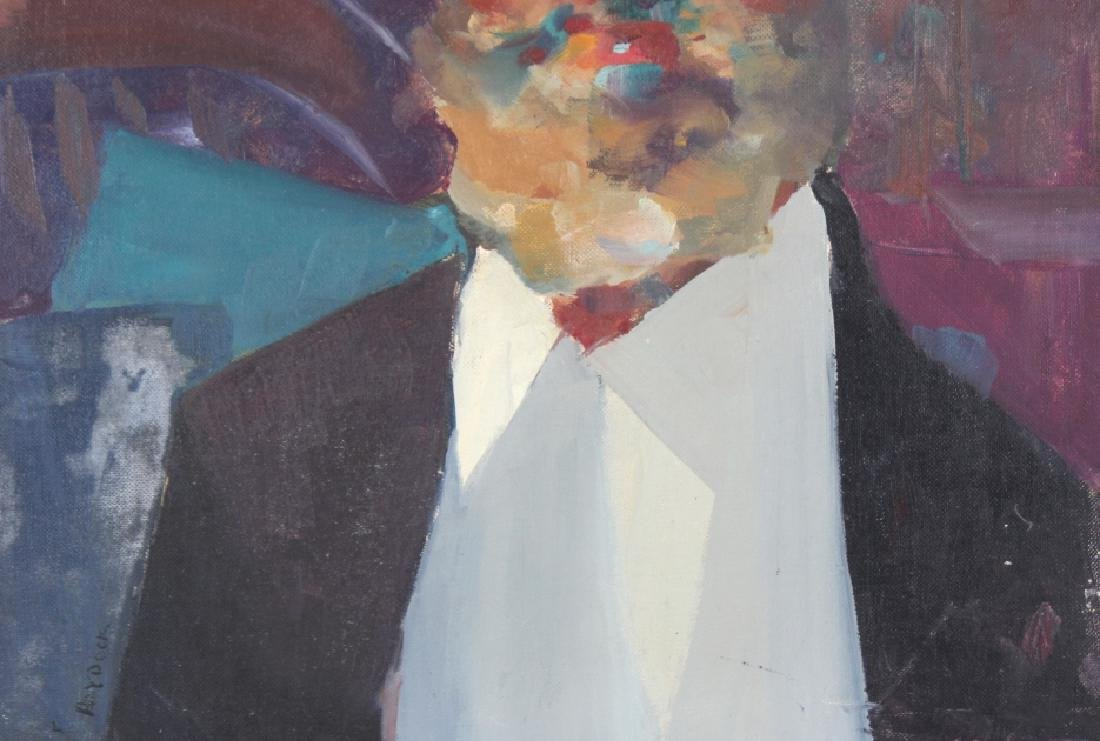 Robert Haydock Portrait of Gentleman Oil Painting - 4