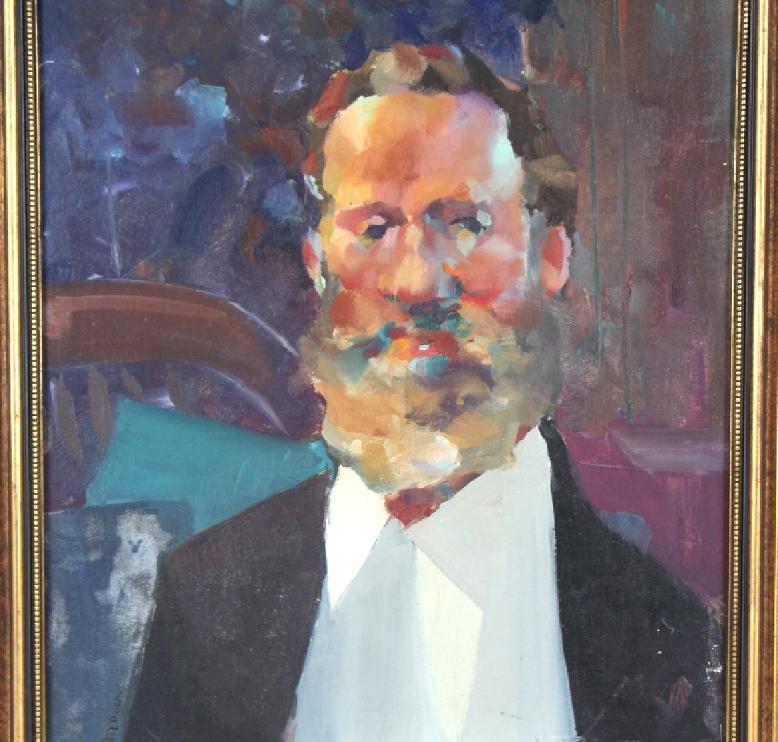 Robert Haydock Portrait of Gentleman Oil Painting - 7