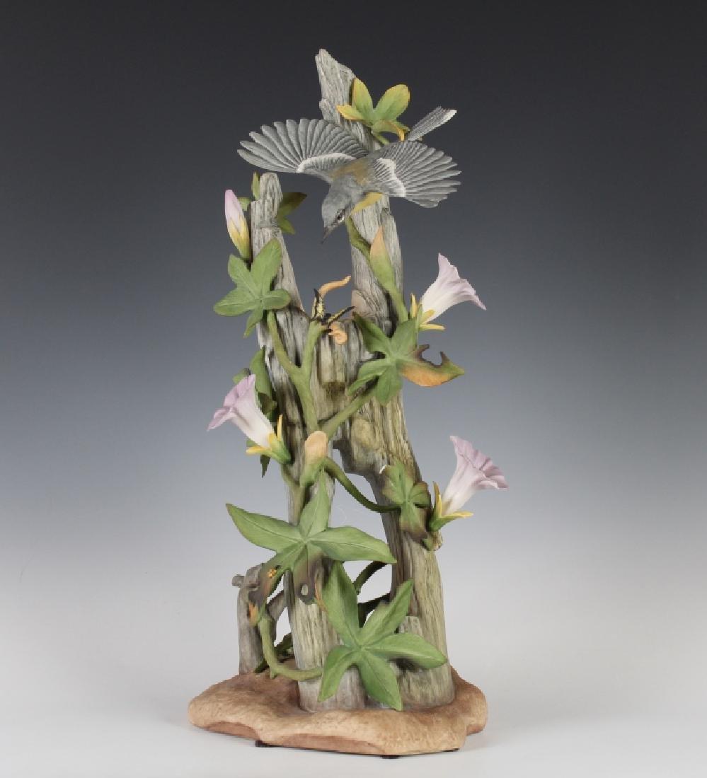 Boehm Porcelain Parula Warbler Sculpture Figurine