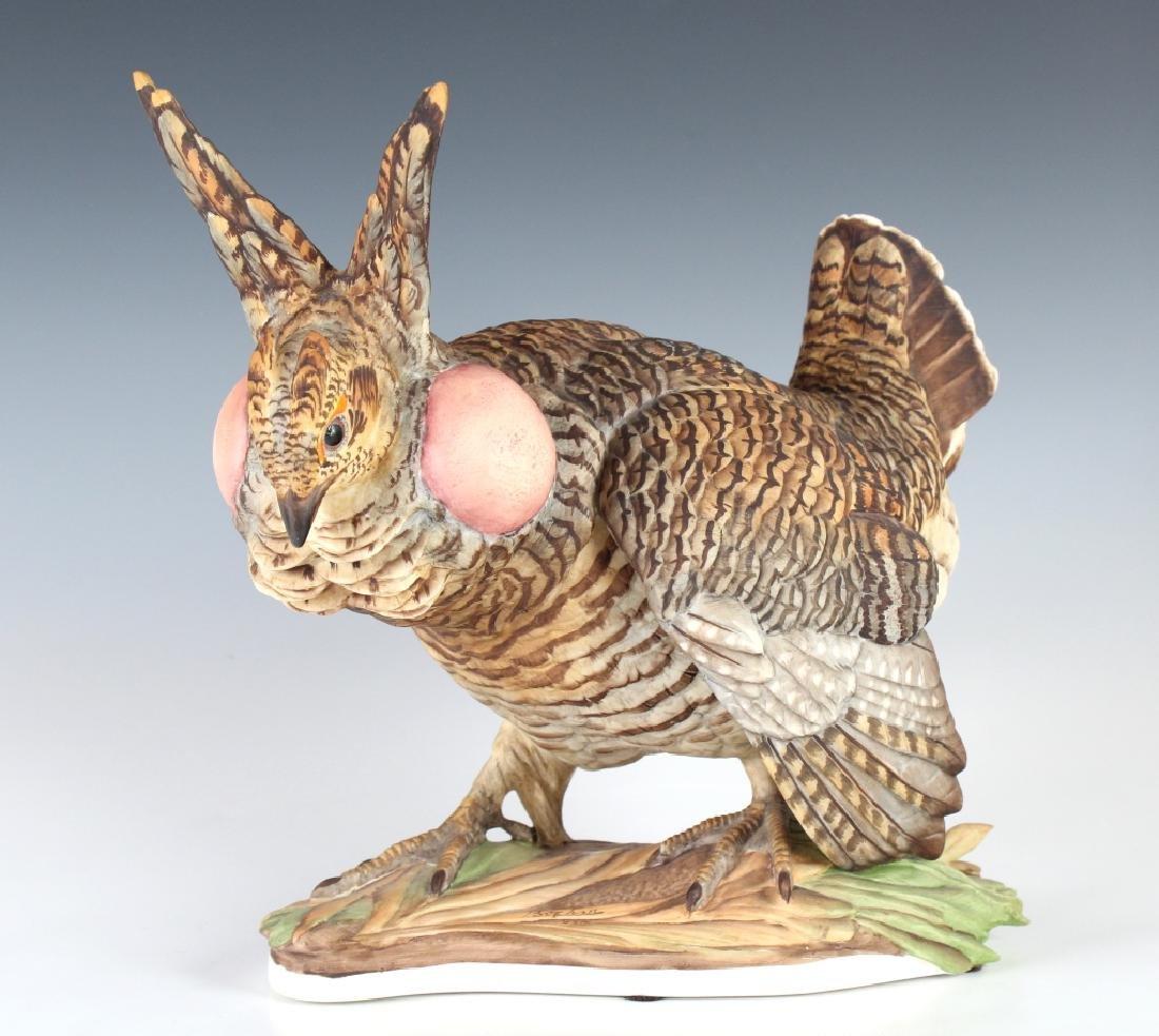 Boehm Porcelain Lesser Prairie Chicken Figurine