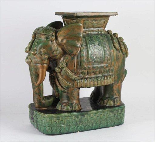 Surprising Chinese Green Glazed Ceramic Elephant Garden Seat Unemploymentrelief Wooden Chair Designs For Living Room Unemploymentrelieforg