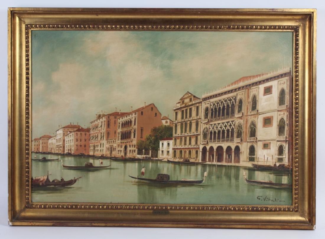Giancarlo Vitali Italian Venetian Oil Painting