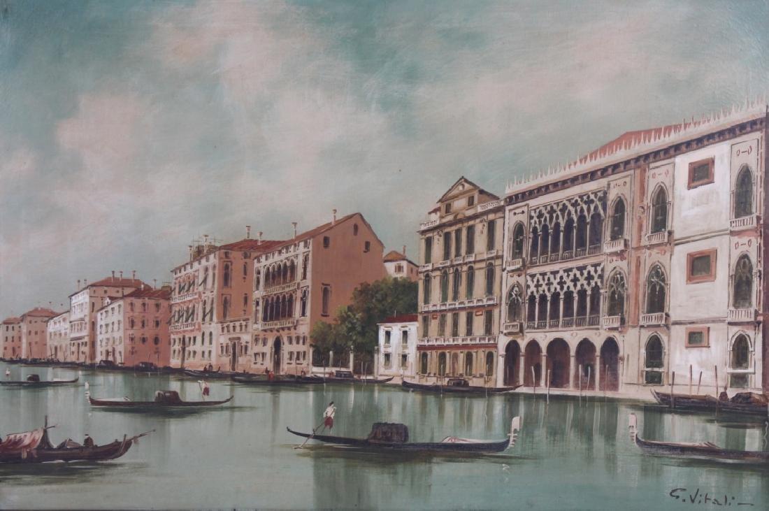 Giancarlo Vitali Italian Venetian Oil Painting - 2