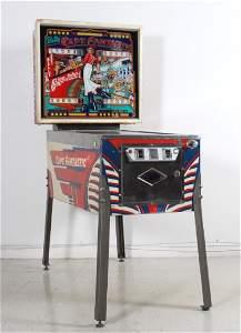 Bally Captain Fantastic Elton John Pinball Machine
