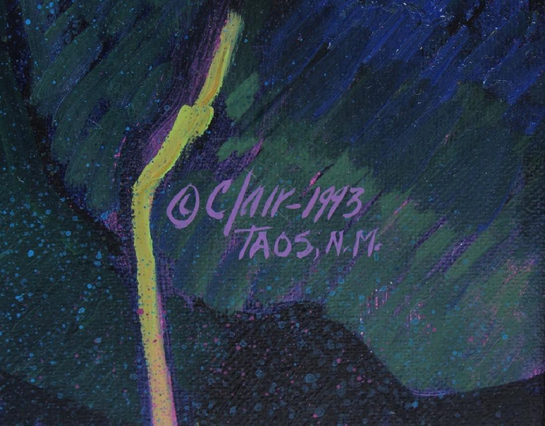 Donna Clair Poppy Fields Landscape Oil Painting - 6
