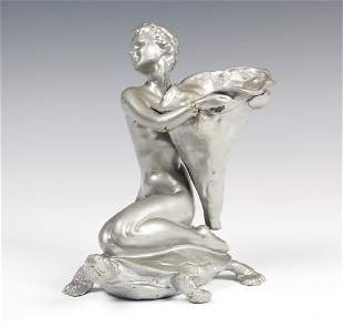 Cast Metal Sculpture Style Of McClelland Barclay