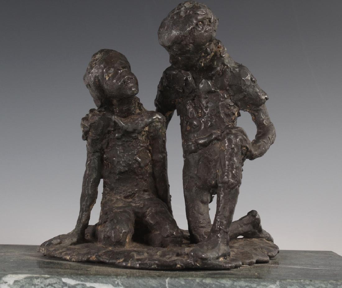 Figural Art Sculpture in the Manner of Chaim Gross - 2