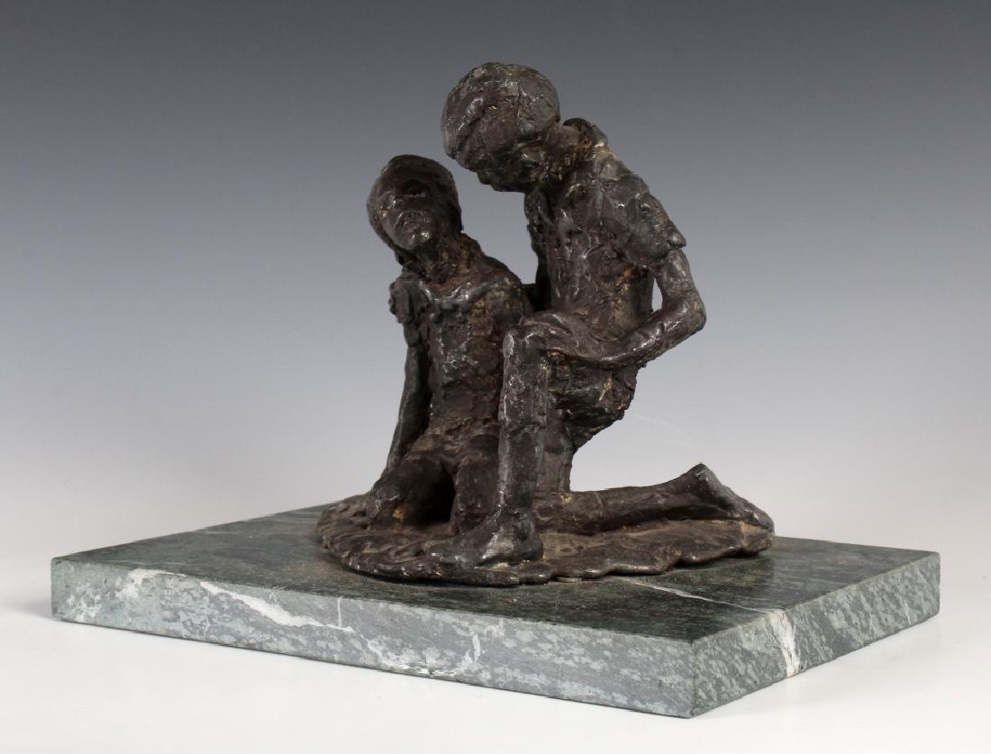 Figural Art Sculpture in the Manner of Chaim Gross - 4