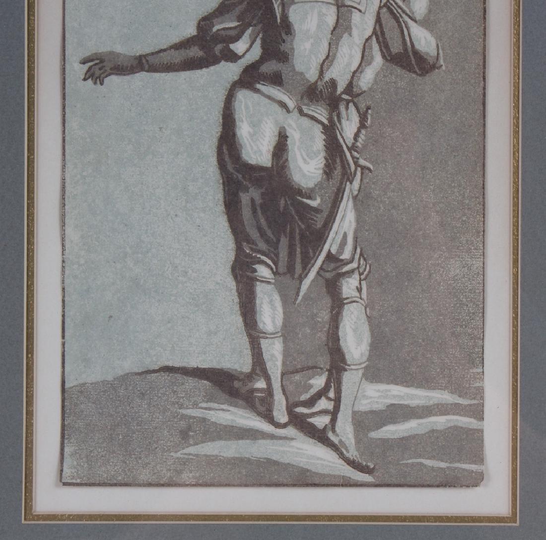 John Skippe After Del Sarto Chiaroscuro Woodcut - 4