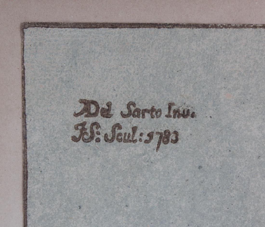 John Skippe After Del Sarto Chiaroscuro Woodcut - 5