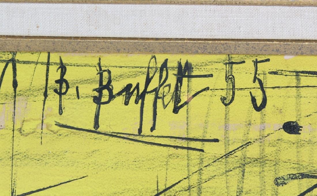 Bernard Buffet (1928-1999) Fruit Still Life Painting - 3