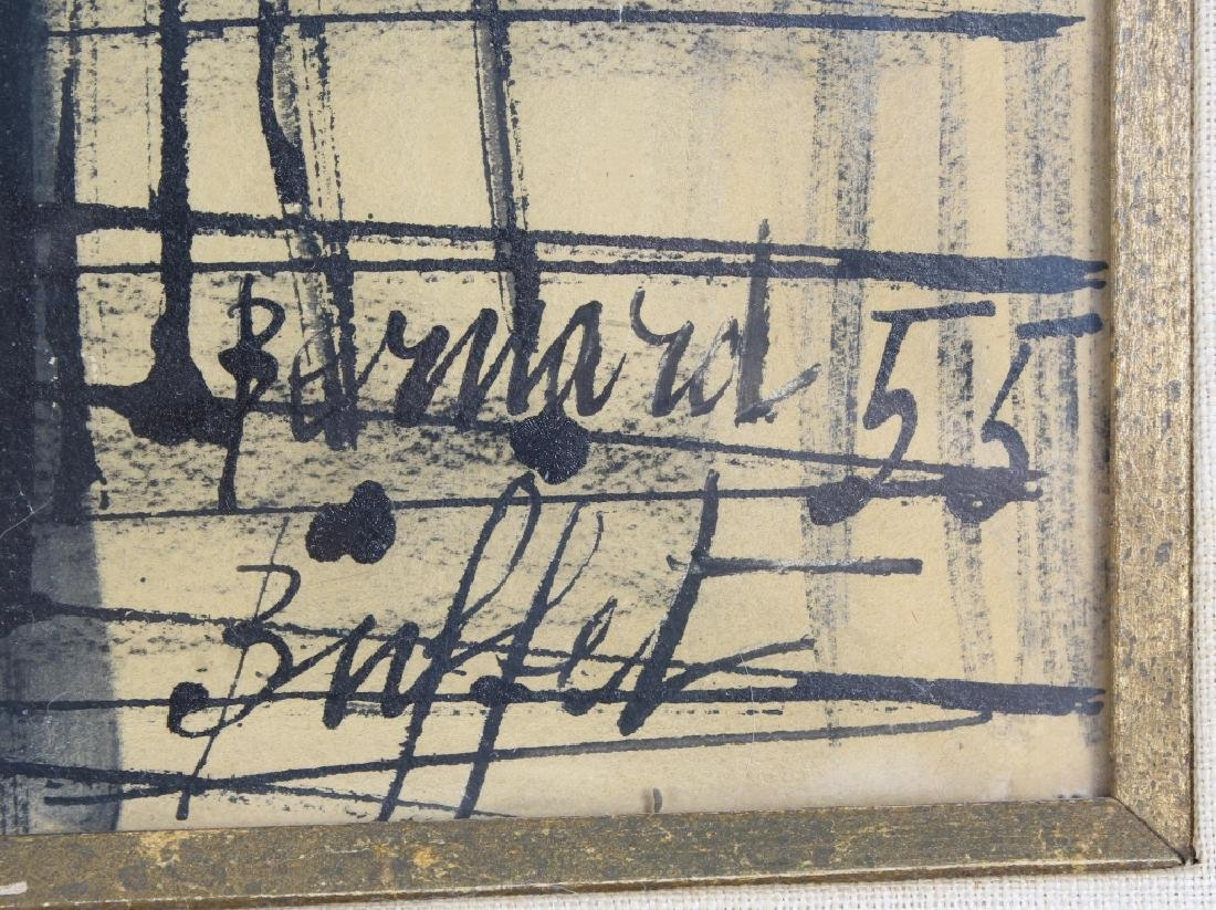 Bernard Buffet (1928-1999) Fruit Still Life Painting - 4
