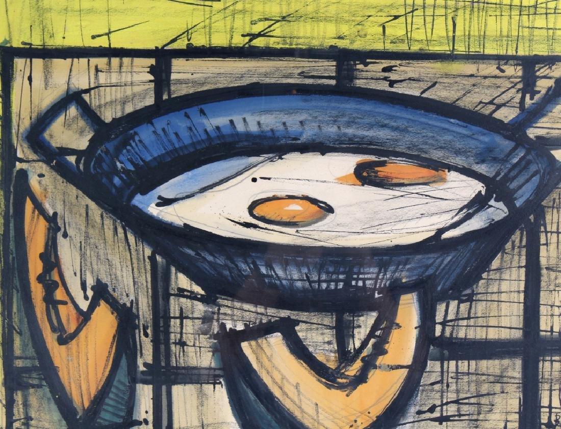 Bernard Buffet (1928-1999) Fruit Still Life Painting - 6
