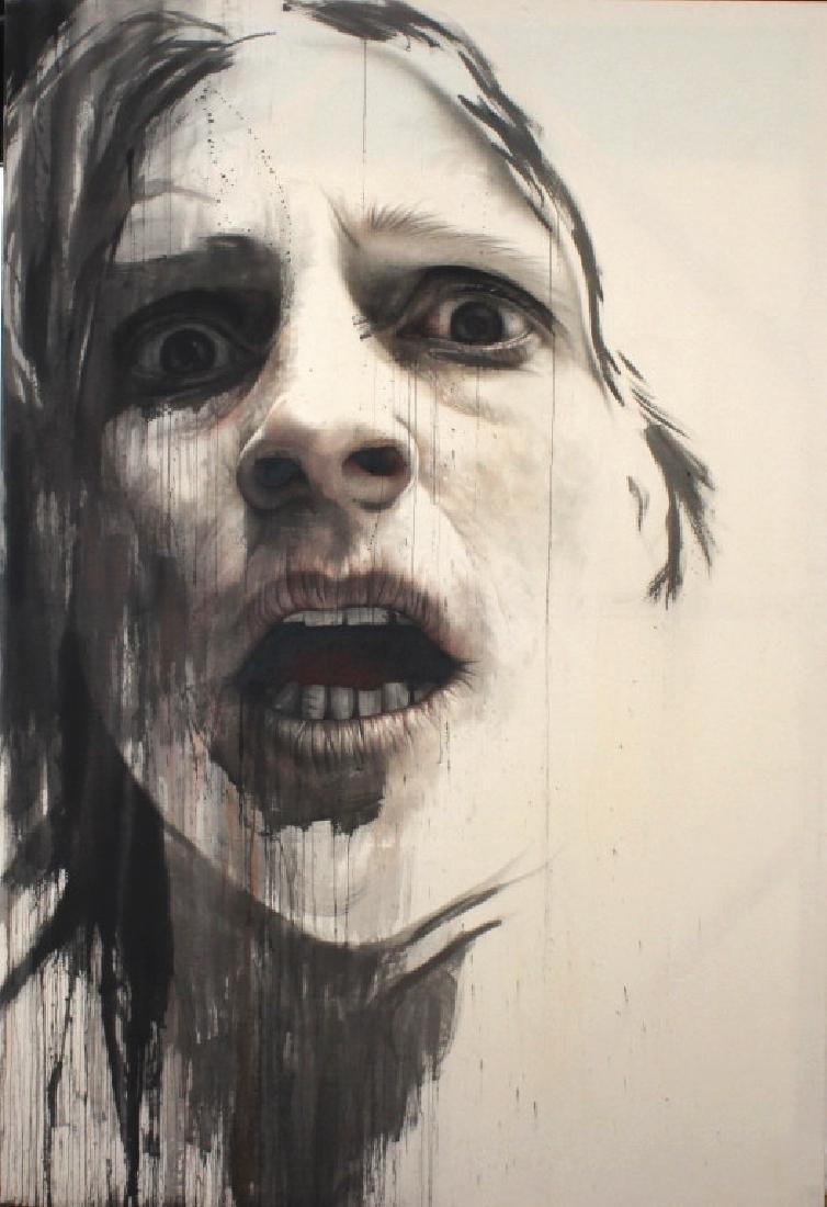 "AnneMarie Busschers (b.1970) Dutch ""Self Portrait"""