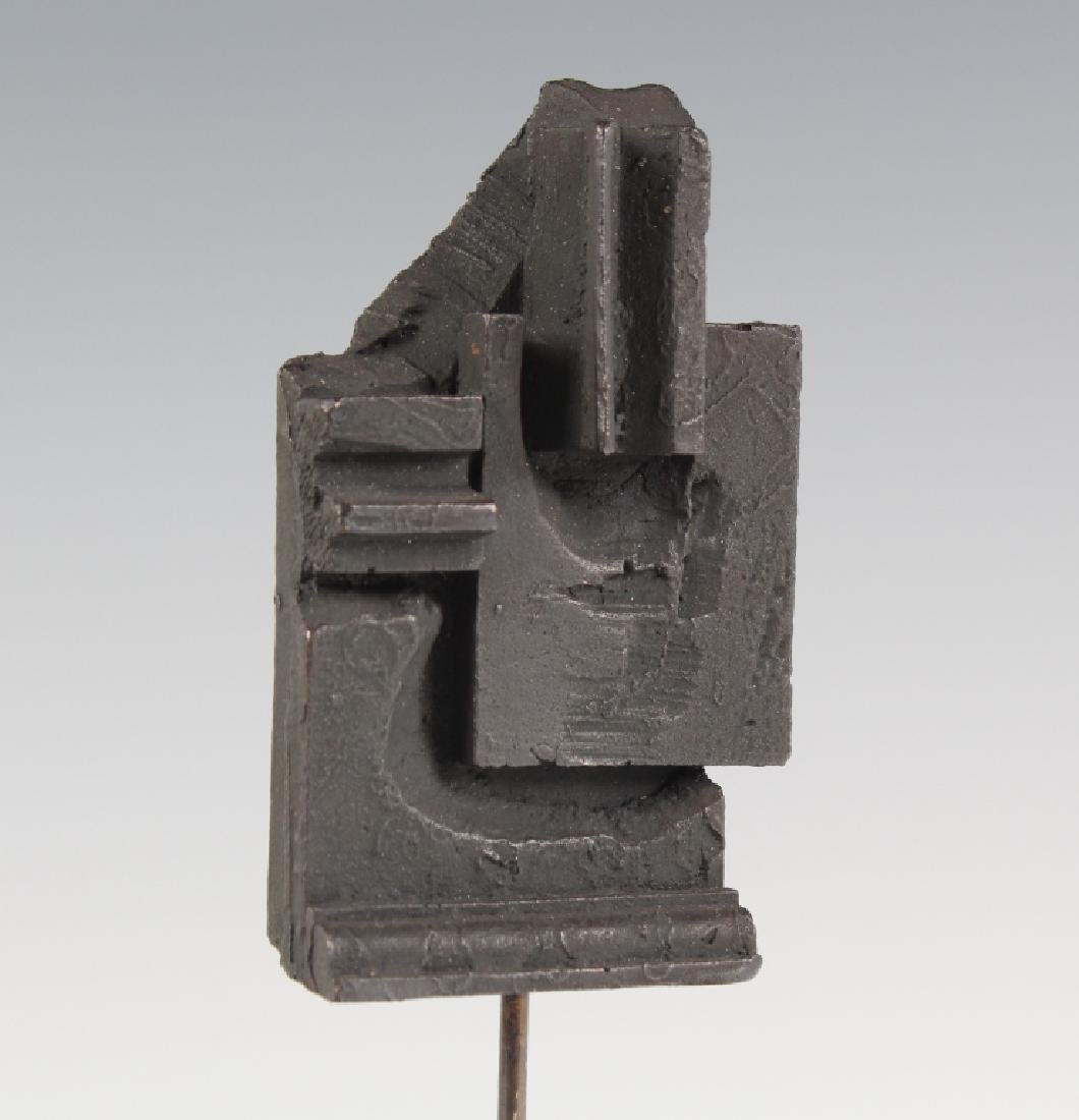 Louise Nevelson Brandeis Multiple Bronze Sculpture
