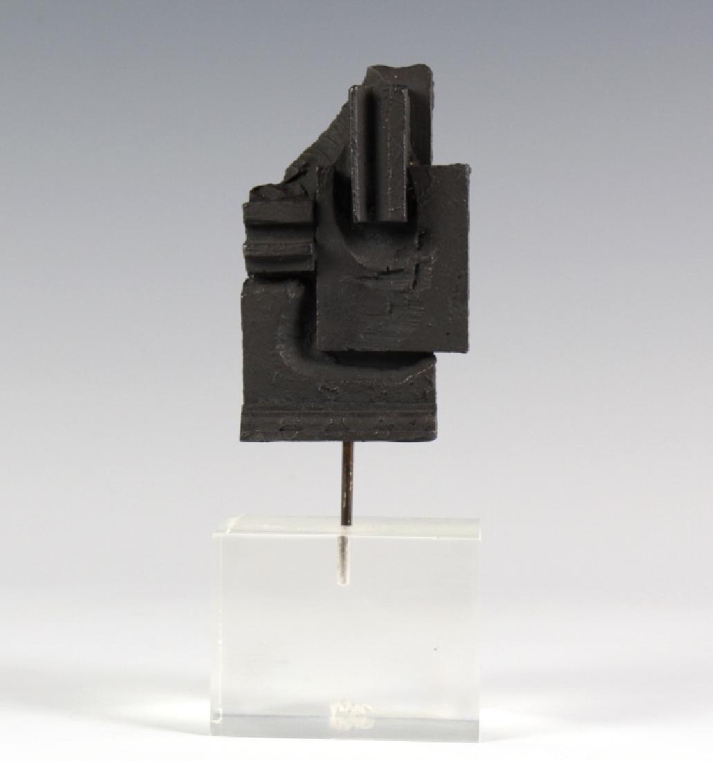 Louise Nevelson Brandeis Multiple Bronze Sculpture - 2