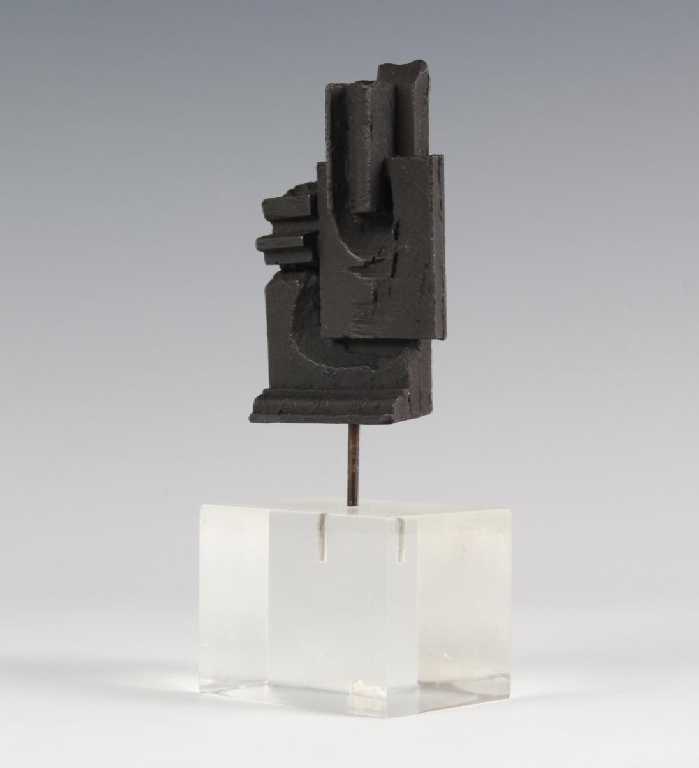Louise Nevelson Brandeis Multiple Bronze Sculpture - 4