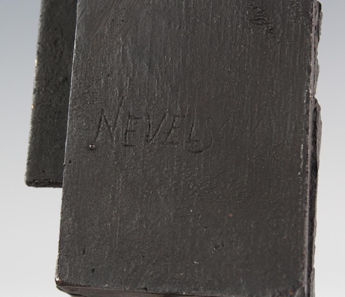 Louise Nevelson Brandeis Multiple Bronze Sculpture - 6