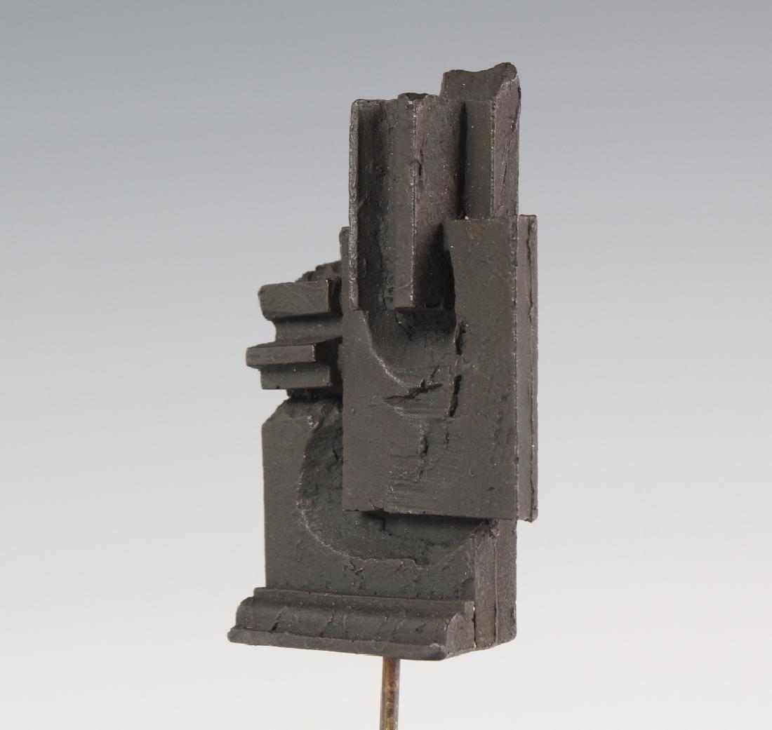 Louise Nevelson Brandeis Multiple Bronze Sculpture - 7