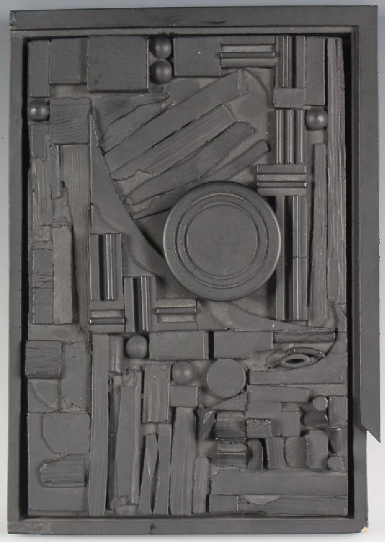 Louise Nevelson American CITY SUNSCAPE Art Sculpture