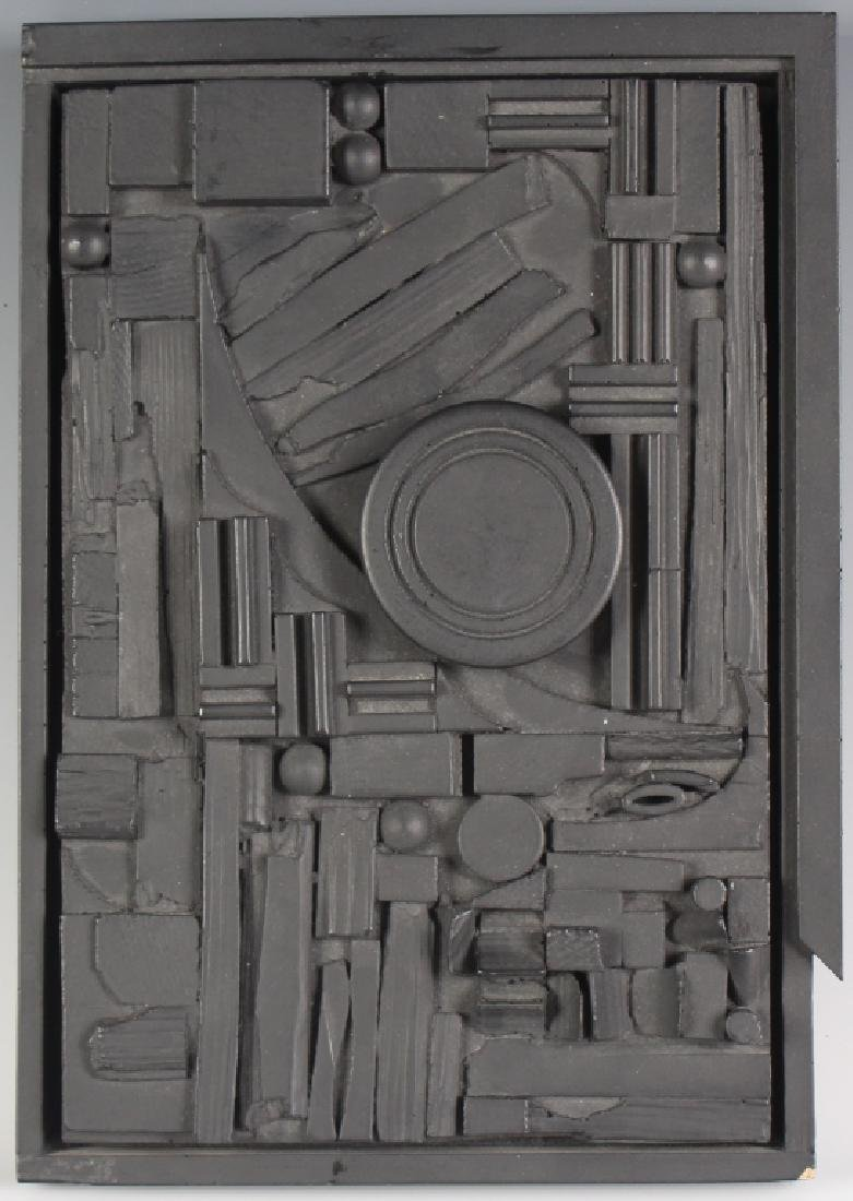 Louise Nevelson American CITY SUNSCAPE Art Sculpture